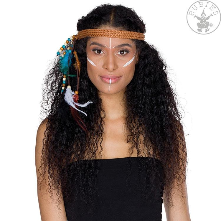 Doplnky podla zamerania - Indiánska čelenka pletená