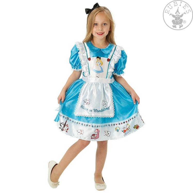 Karnevalové kostýmy - Alice in Wonderland Deluxe - licenční kostým
