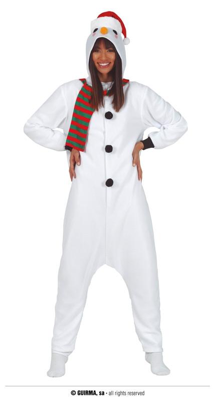 Kostýmy - Sněhulák - overal