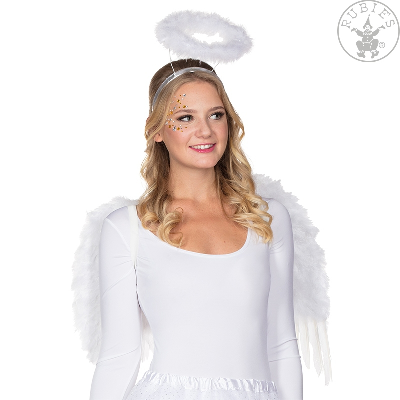 Doplnky podla zamerania - Krídla anjel páperová sa svätožiarou