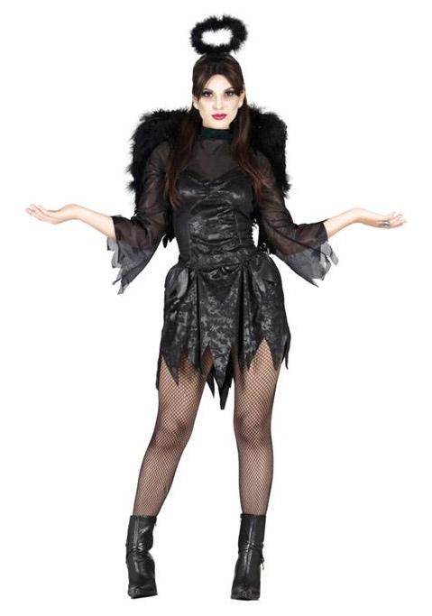 Kostýmy - Čierny anjel