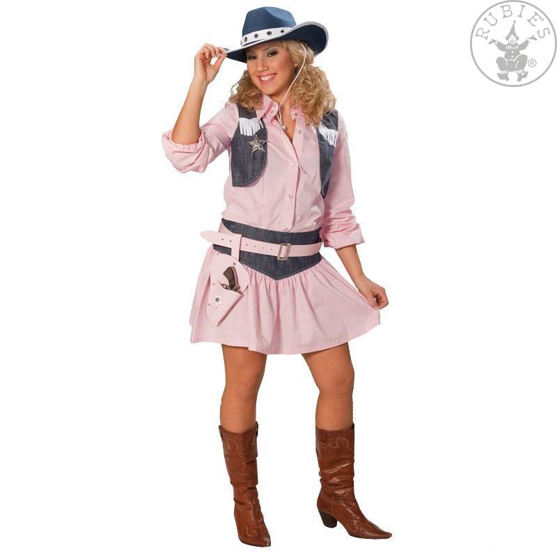 Kostýmy - Cowgirl - kostým