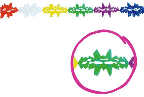 Doplnky - Girlanda fantázie plastová 14 x 300 cm