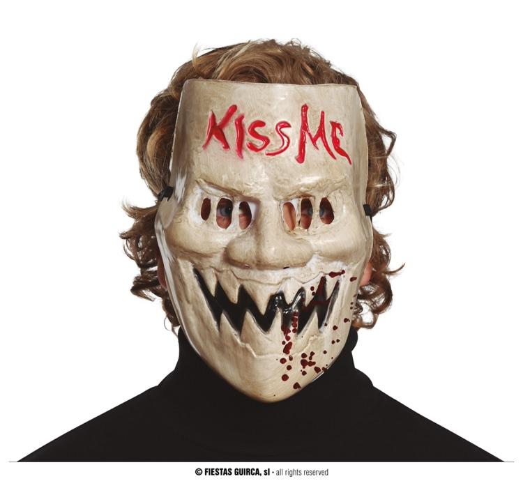 Masky - KISS ME -  PVC maska