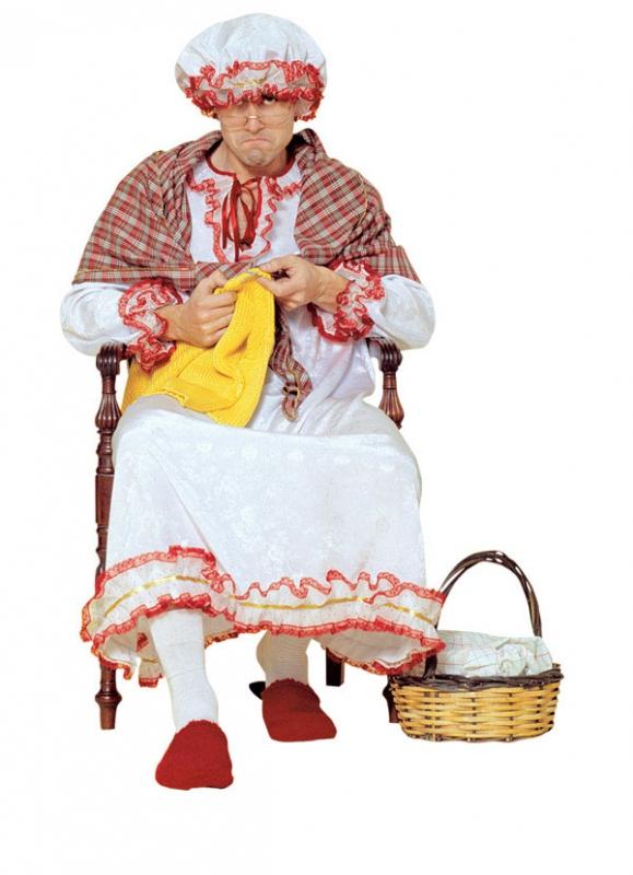 Kostýmy - Kostým stará mama