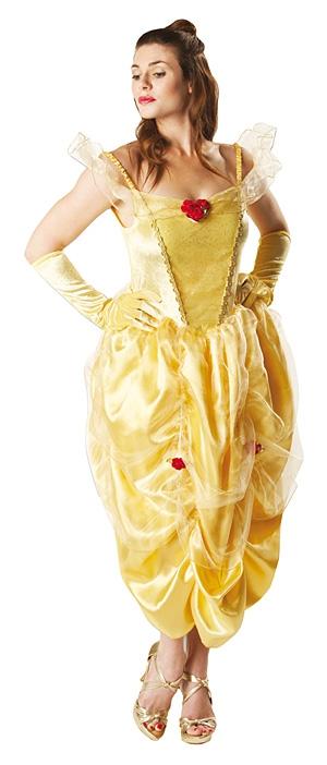 Karnevalové kostýmy - Kostým Golden Belle Adult - licenčný kostým