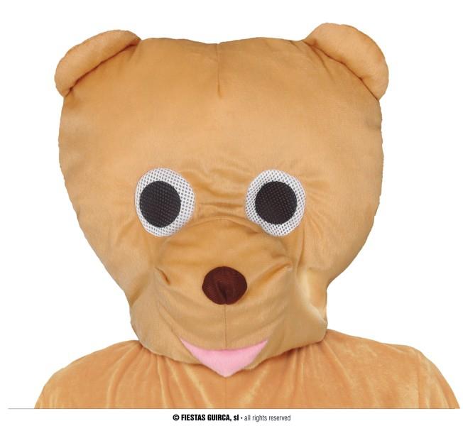 Kostýmy - Veľká medvedí hlava.