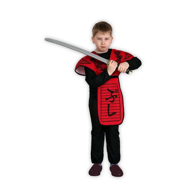 Kostýmy - Ninja červený