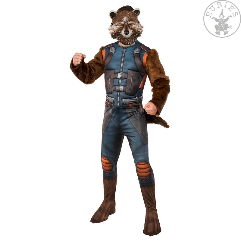 Karnevalové kostýmy - Rocket Raccoon Deluxe GOTG 2- Adult D