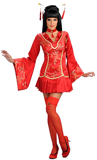 Kostýmy - Sexy kostým Red Ginger