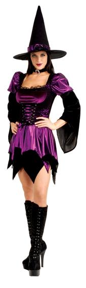 Karnevalové kostýmy - Sexy Witch - kostým
