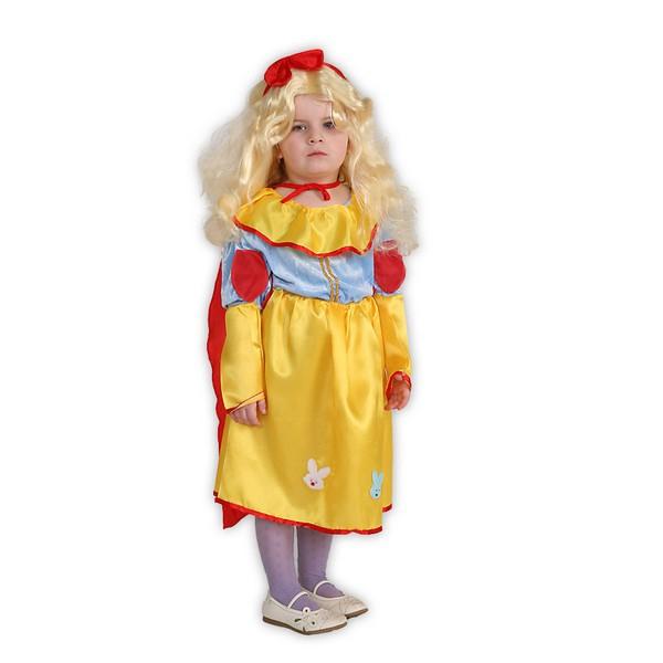 Kostýmy - Snehulienka - karnevalový kostým