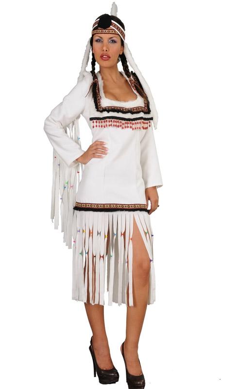 Kostýmy - WHITE INDIAN - dámský kostým