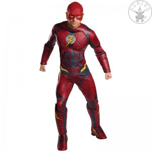 Kostým Flash Justice  League Deluxe - Adult
