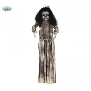 Zombie panenka s led světlem