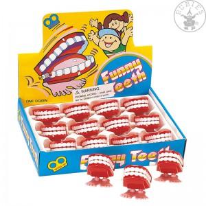 Skákací zuby 1 ks