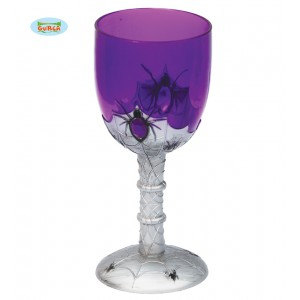 Pohár fialový 16 cm